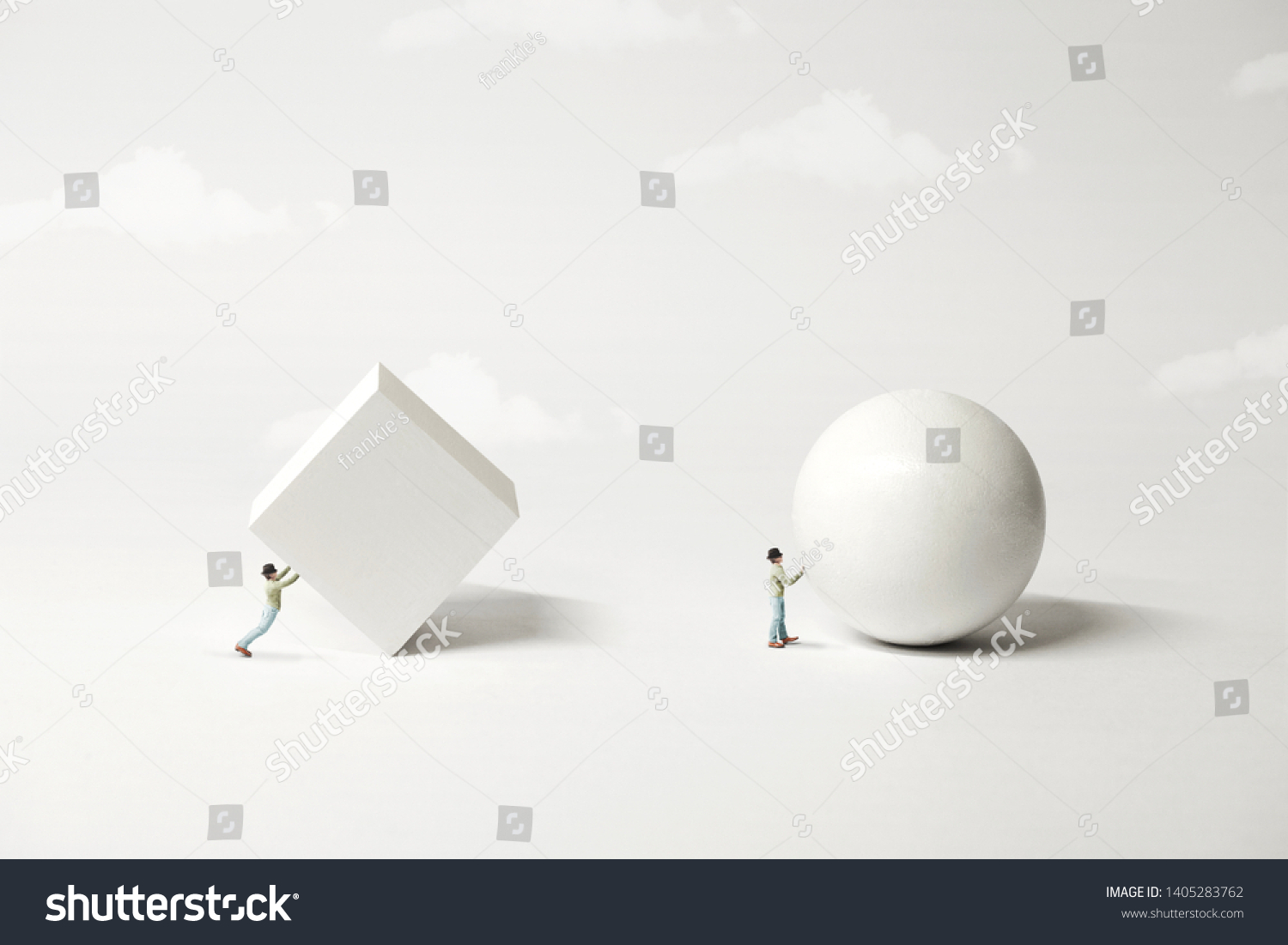 stock-photo-different-strategy-comparison-the-easyest-the-better-surreal-minimal-concept-1405283762